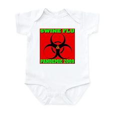 Swine Flu Pandemic 2009 Infant Bodysuit