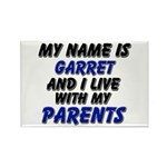 my name is garret and I live with my parents Recta