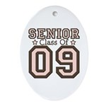 Senior Class of 2009 Oval Ornament