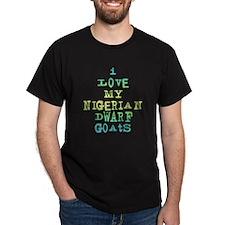 Nigerian Dwarf Goats T-Shirt