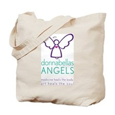 DonnaBellas Angels Logo Tote Bag