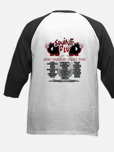 Swine Flu Tour Kids Baseball Jersey