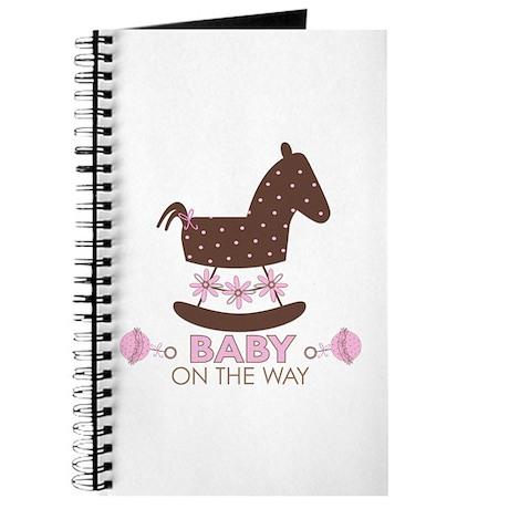 Baby Girl Rocking Horse Journal