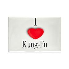 Kung-Fu Rectangle Magnet