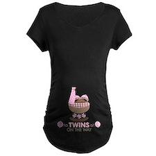 Twin Girls On Way T-Shirt