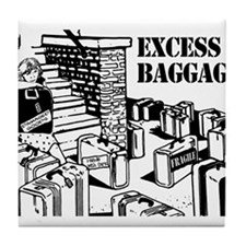 Excess Baggage Tile Coaster