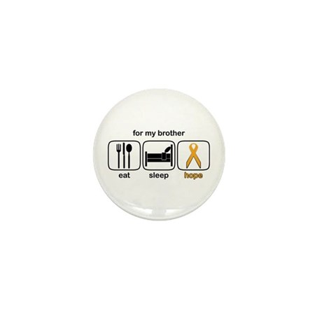 Brother ESHope Leukemia Mini Button