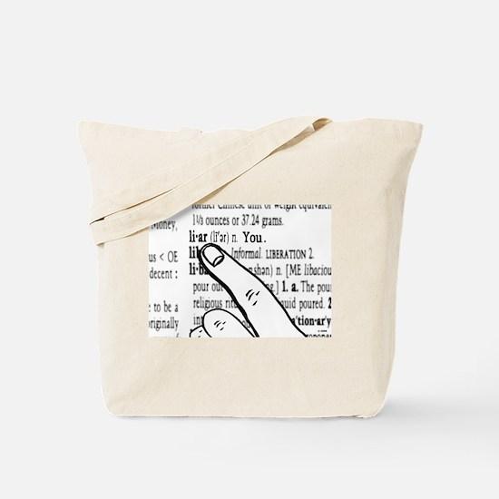 Liar Tote Bag