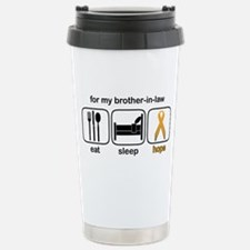 Brother-in-law ESHope Leukemia Travel Mug
