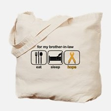 Brother-in-law ESHope Leukemia Tote Bag