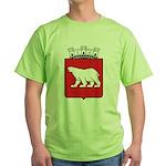 Hammerfest Coat Of Arms Green T-Shirt