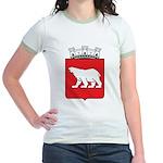 Hammerfest Coat Of Arms Jr. Ringer T-Shirt