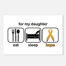 Daughter-in-law ESHope Leukemia Postcards (Package