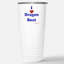 I love dragon boat Stainless Steel Travel Mug