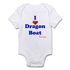 I love dragon boat Infant Bodysuit