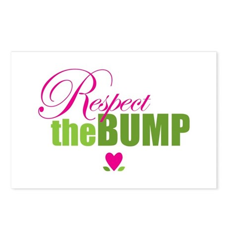 Respect The Bump Postcards (Package of 8)