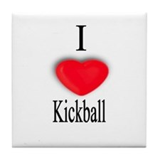 Kickball Tile Coaster