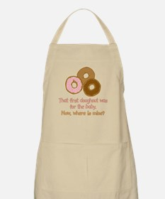 Doughnuts For Baby BBQ Apron