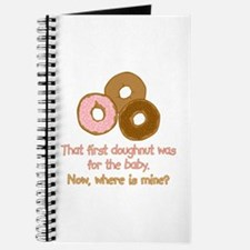 Doughnuts For Baby Journal