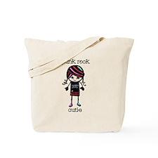 Punk Rock Cutie Tote Bag