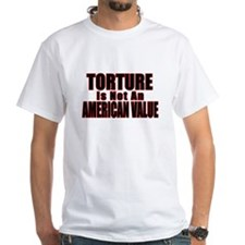Torture Not an American Value Shirt