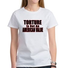 Torture Not an American Value Tee