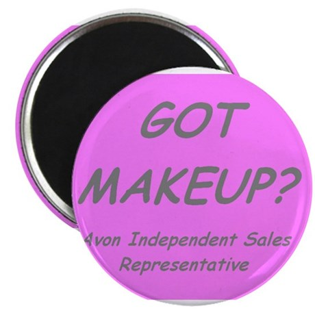 "Got MakeUp? 2.25"" Magnet (100 pack)"
