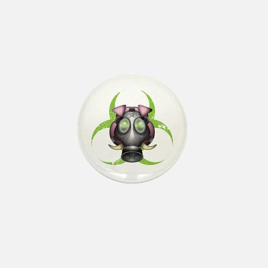 Swine Flu Mini Button