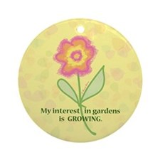 GARDENS GROWING Ornament (Round)