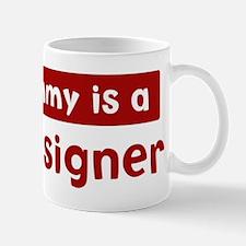 Mom is a Set Designer Mug
