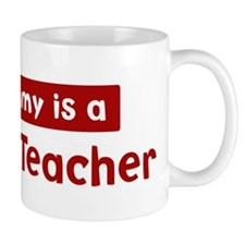 Mom is a Science Teacher Mug
