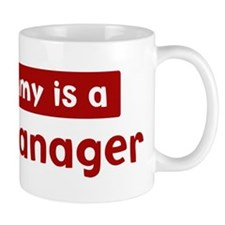 Mom is a Sales Manager Mug