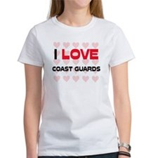 I LOVE COAST GUARDS Tee