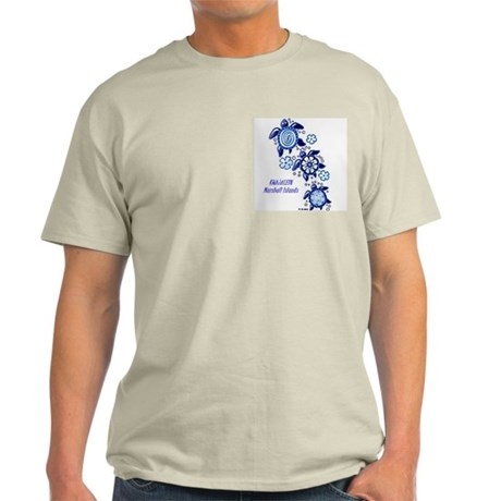 Kwajalein Turtles (Ash Grey T-Shirt)