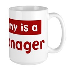 Mom is a Risk Manager Mug