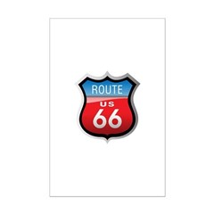 Route 66 Sign Posters