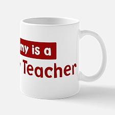 Mom is a Sociology Teacher Mug