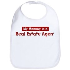 Mom is a Real Estate Agent Bib