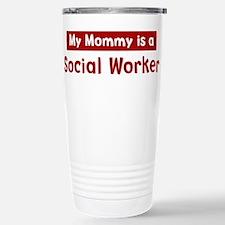 Mom is a Social Worker Travel Mug