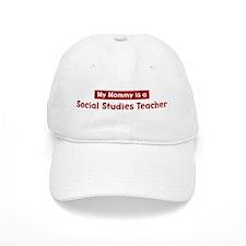 Mom is a Social Studies Teach Baseball Cap