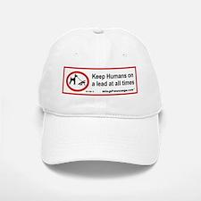 Humans on a Lead Baseball Baseball Cap