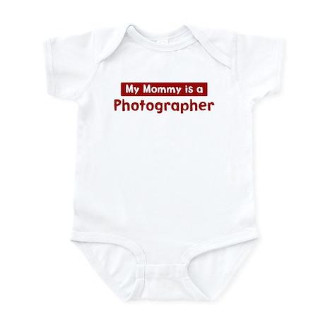 Mom is a Photographer Infant Bodysuit