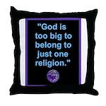 Big God I Throw Pillow