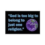 Big God I Rectangle Magnet (100 pack)