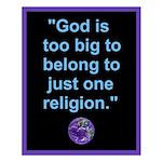 Big God I Small Poster