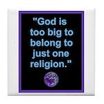 Big God I Tile Coaster