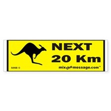 Kangaroo Bumper Stickers