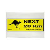 Kangaroo Stickers & Flair