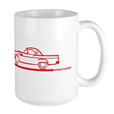 Two 57 T Birds Red Mug