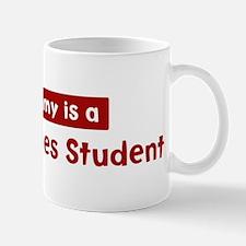 Mom is a Peace Studies Studen Mug
